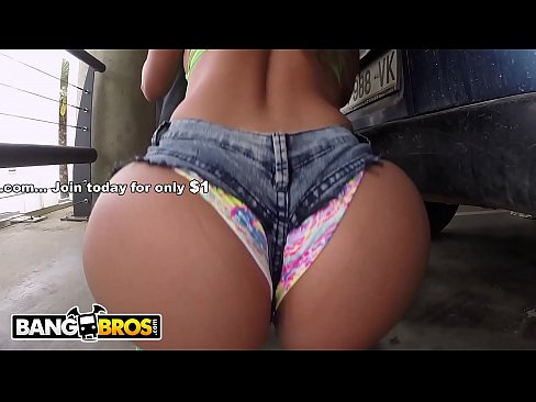 BANGBROS – Latina Natalie And Her Insane Colombian Booty